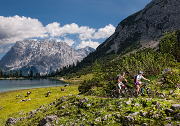Mountain biking in Tirol