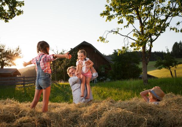 Holiday at an Austrian farm