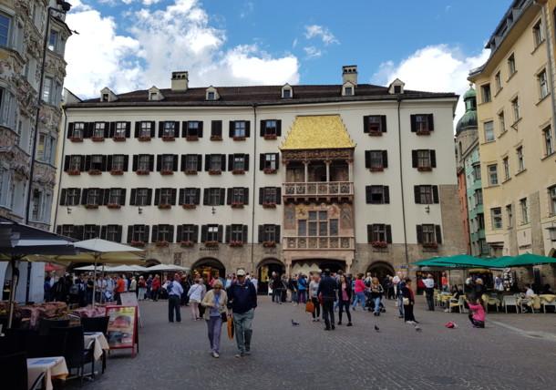 The golden roof in Innsbruck