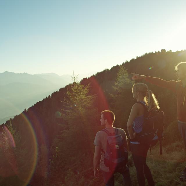 Wandergruppe, Alpines Lebensgefühl