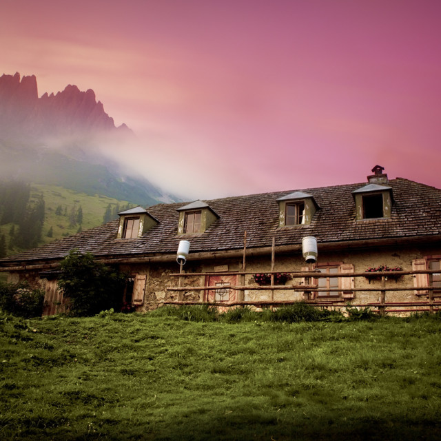 Hütte am Hochkönig