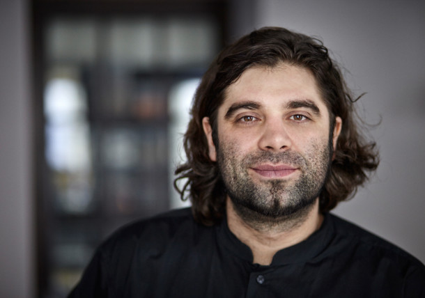 Konstantin Filippou in seinem Restaurant