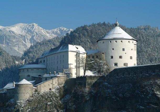 Festung Kufstein Winter