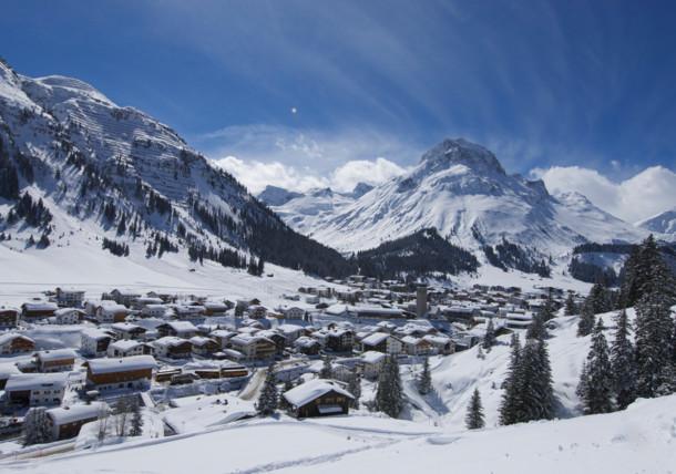 Der legendäre Winterportort Lech
