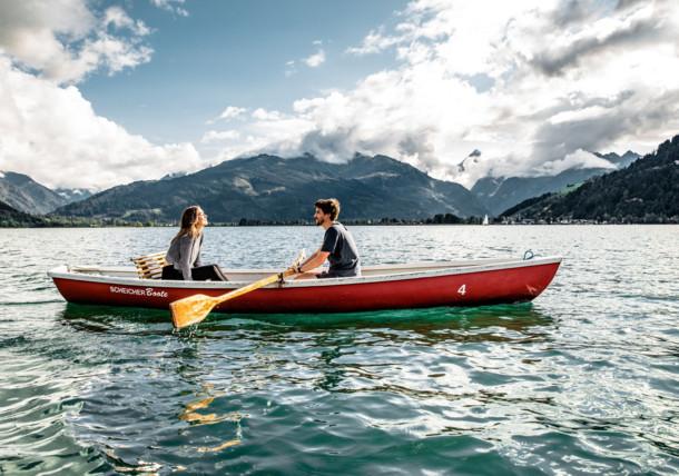 Bootfahren am Zeller See