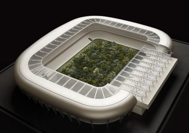 For Forest, eine Kulturintervention im Klagenfurter Stadion