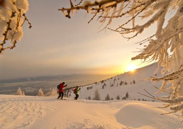 Schneeschuhwandern in Gerlitzen