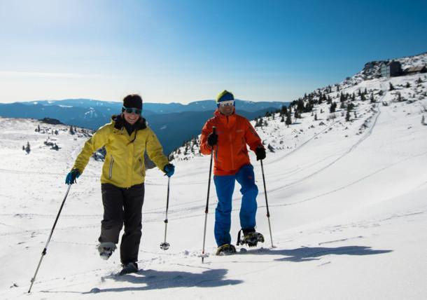 Schneeschuchwandern am Rax
