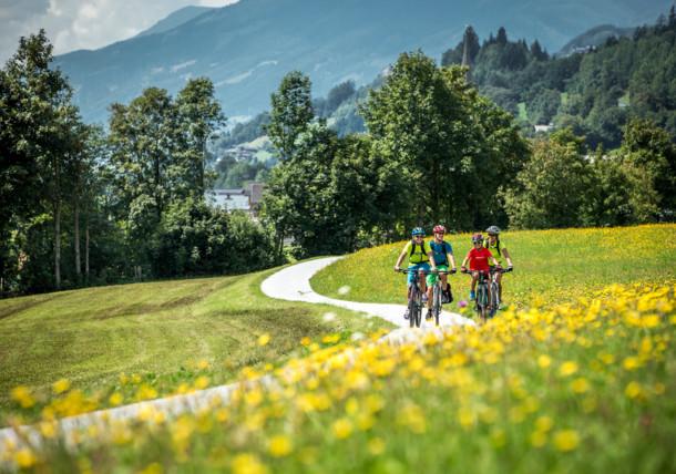 Radwege im SalzburgerLand
