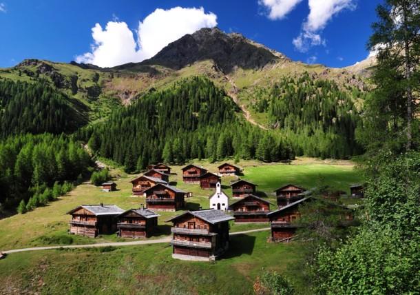 Oberstalleralm Innervillgraten in Osttirol