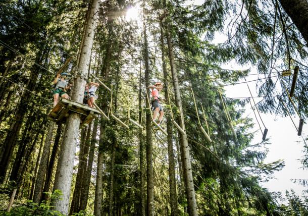 Abenteuer im Hornpark in St. Johann in Tirol