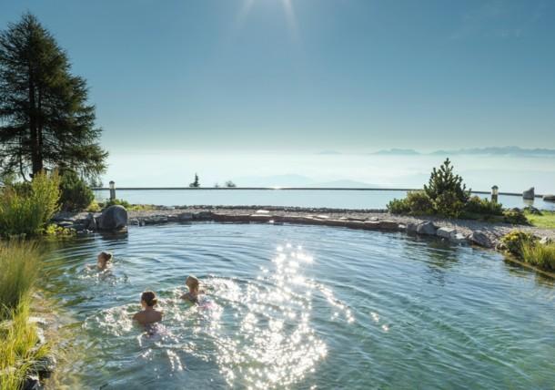 Schwimmen Naturbadesee, Feuerberg Mountain Resort
