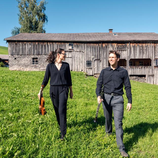 Musiker im Bregenzerwald