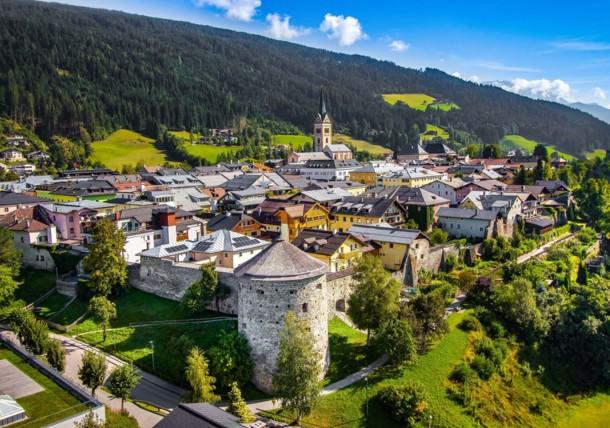 Radstadt im Sommer Salzburg